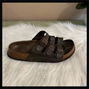 Birkenstock Betula Leo Soft Foot-Bed Sandal
